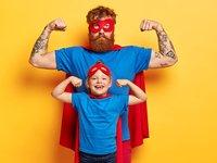 super hero dad with cape.jpg