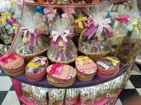 Easter baskets at Carousel Candies.jpg