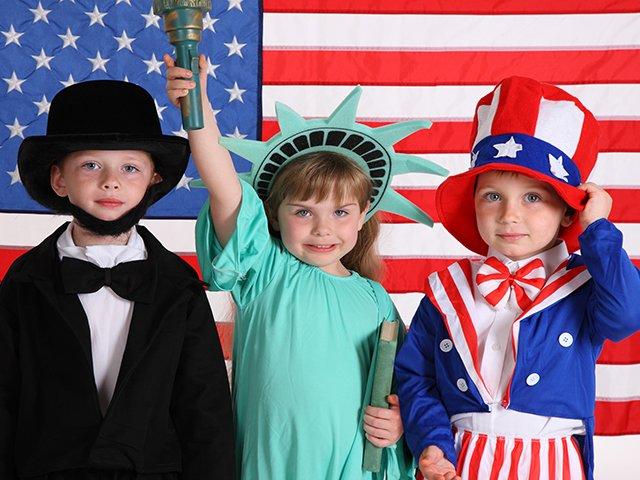 4th of July children