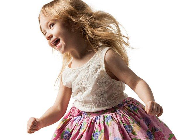 Dancing Preschooler
