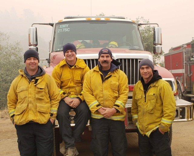 Monterey fire crew