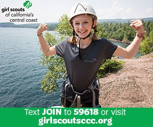 Girl Scouts off the Central Coast