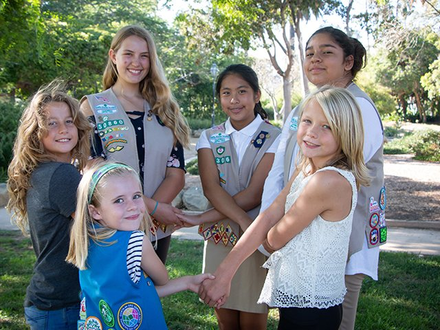 girl scouts Monterey