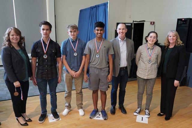 2019 Science Fair winners
