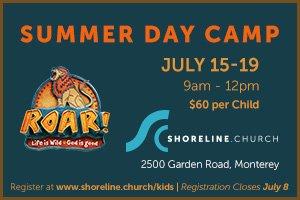 Shoreline camp